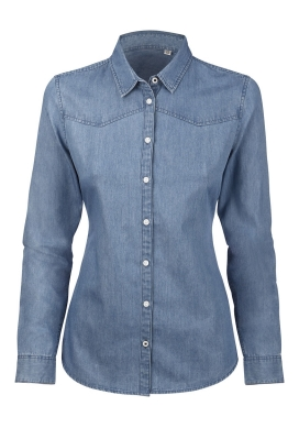 organic Denim Shirt  ecoLoco organic clothing