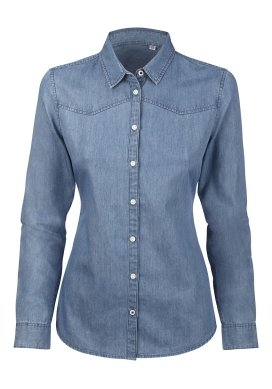 organic Denim Shirt ecoLoco organic clothing - Ecoloco
