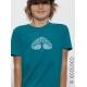 T shirt bio RESPIRE  imprimé en France artisan mode éthique équitable vegan fairwear enfant