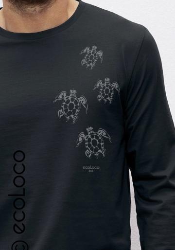 Maori tatoo turtles organic t shirt ecoLoco