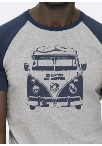 Sobriété heureuse... tee shirt bio ecoLoco
