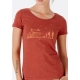 organic women modal tee shirt ECOLOGICAL TRANSITION fairwear craftman France vegan ecowear
