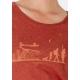 Bio-T-Shirt ÖKOLOGISCHER WANDEL vegane Kleidung ethische Mode gedruckt in Frankreich Handwerker