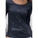 organic women Tee shirt long sleeves SEEDS OF THE FUTURE fairwear ecofriendly craftman France vegan ecowear wind turbine
