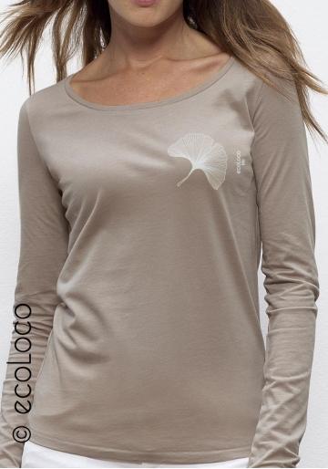 CORAL organic lyocell long sleeves t shirt ecoLoco