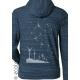 Sweat shirt Bio GRAINES DU FUTUR mode éthique équitable imprimé en France artisan sportwear