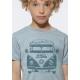 Sobriete heureuse tee shirt bio vetement ecoLoco createur