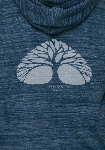 Respire sweatshirt bio vetement  ecoLoco createur