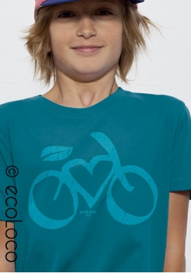 LOVE VELO organic t shirt boy