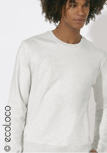 Sweat-shirt bio YOGA basique manches longues équitable vegan fairwear