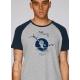 organic tee shirt WIND TURBINE renewable energy fairwear craftman France vegan ecowear