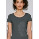 CORAIL T shirt bio vetement equitable vegan création imprimée en France