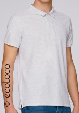 Organic polo men fairwear vegan ecowear - Ecoloco
