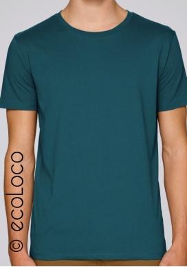 Organic basic t shirt men fairwear vegan ecowear - Ecoloco