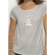 meditate or relax yoga organic t shirt Legalize Serenity