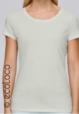 Bio-T-Shirt vegane Grundbekleidung nachhaltige Mode (V-Kragen) - Ecoloco
