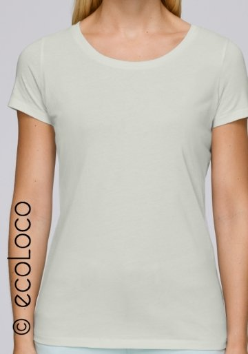 Bio-T-Shirt vegane Grundbekleidung nachhaltige Mode (V-Kragen)